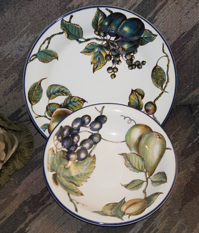 Fall and Thanksgiving crockery set