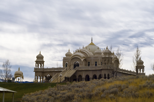 Krishna Temple in Spanish Fork, Utah