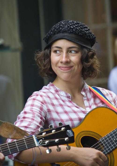 Street Musician Smile